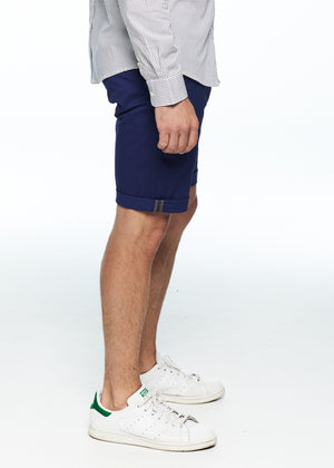 Shorts - Stretch Slim Chino Short (Navy)