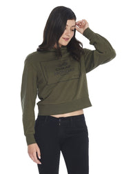 Cheap Monday Attract Hood (Mud green) - ChicStyle