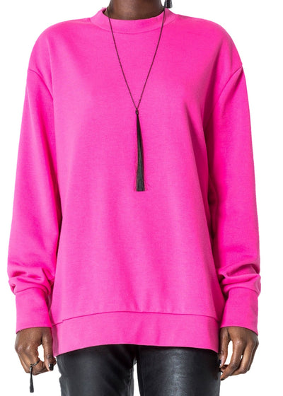 Cheap Monday Con *Organic Sweat (Neon Pink) - ChicStyle