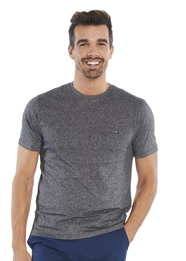 Ben Sherman Plain Grindle Tee (Black) - ChicStyle