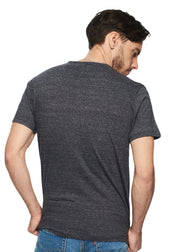 Levi's Small Sleeve Set-in Sunset Pocket (Lunar Rock Tri-blend) - ChicStyle