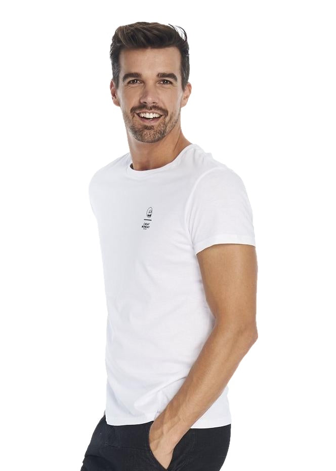 Cheap Monday Standard Tee (White) - ChicStyle