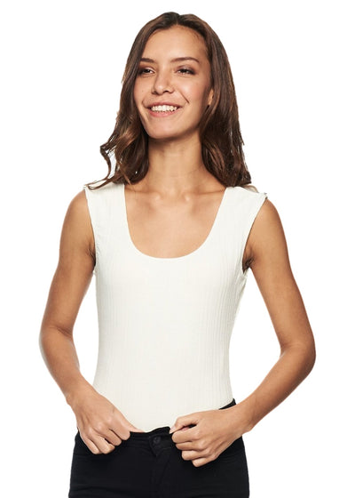 MINKPINK Hero Bodysuit (Off White) - ChicStyle