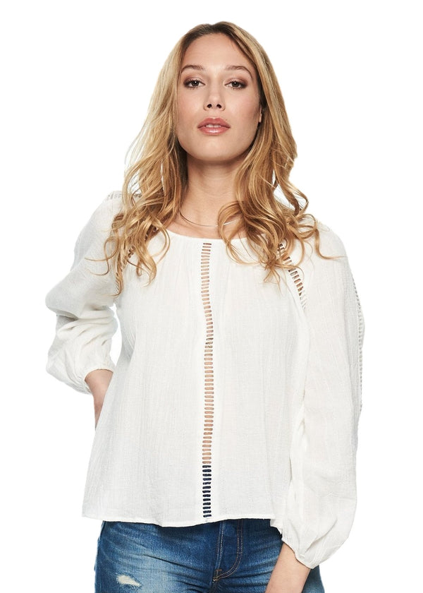 MINKPINK Jaded Blouse (White) - ChicStyle