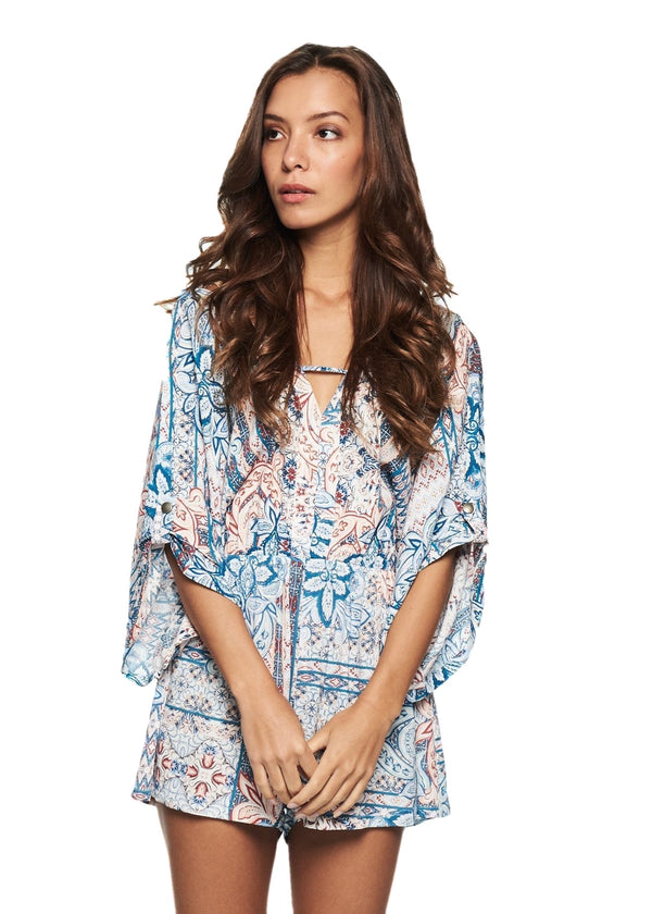 MINKPINK Marrakech Batwing (Multicolor) - ChicStyle