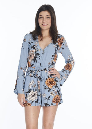 Tops - New Romantic Playsuit (Multi)