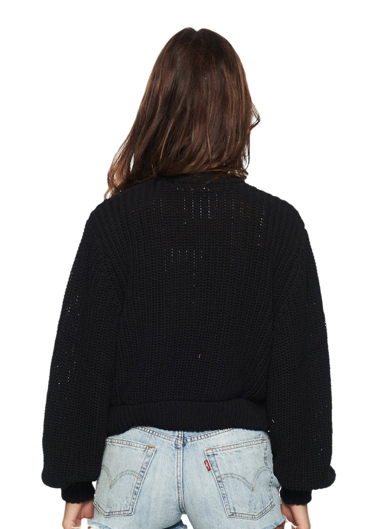 Cheap Monday Provoke Knit (Black) - ChicStyle