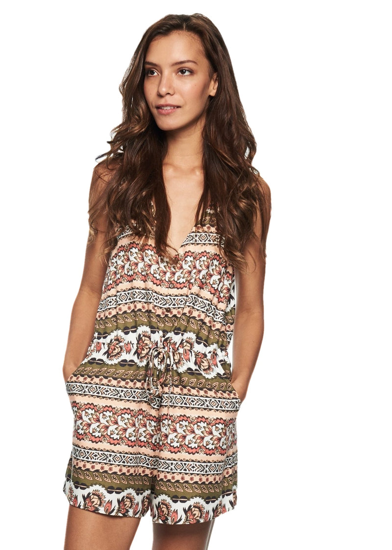 MINKPINK Temple Playsuit (Multicolor) - ChicStyle