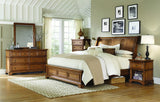 Alder Creek Sleigh Storage Bed
