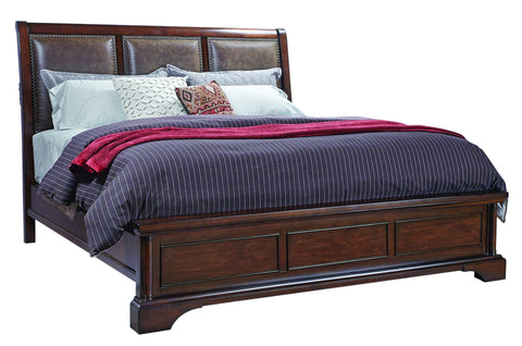 Bancroft Upholstered Sleigh Bed