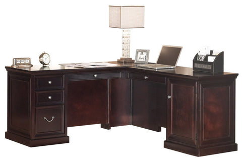 Fulton Space Saver L-Shape Desk