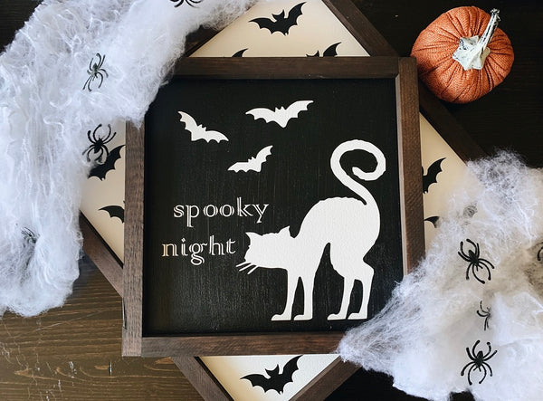 Spooky night (black)