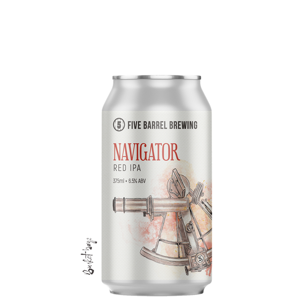 Five Barrel Navigator Red IPA