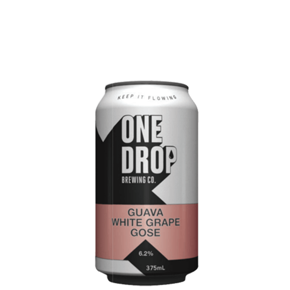 One Drop Guava & White Grape Gose