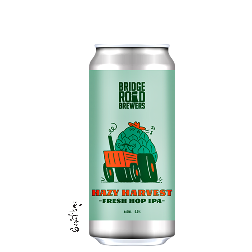 Bridge Road Hazy Harvest Fresh Hop IPA 2021