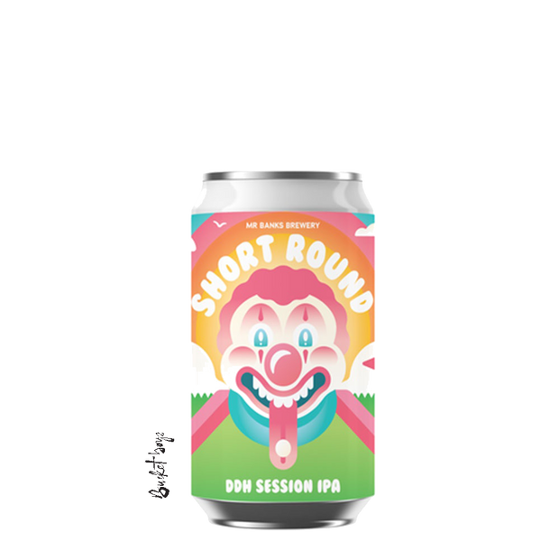 Mr Banks Short Round DDH Session IPA