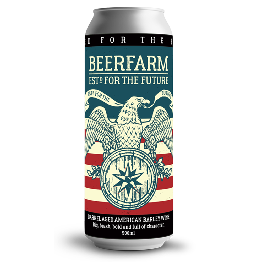 Beer Farm Barrel Aged American Barleywine (500ml)