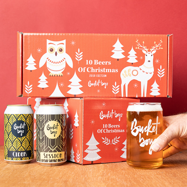 Bucket Boys Christmas 10 Pack - 10 Sydney Craft Beers