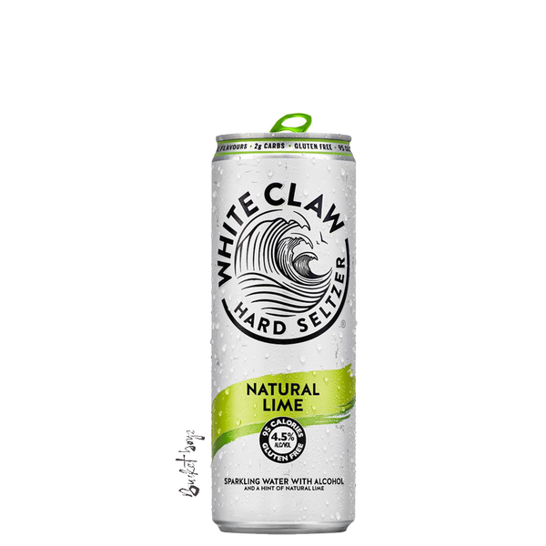 White Claw Natural Lime Seltzer