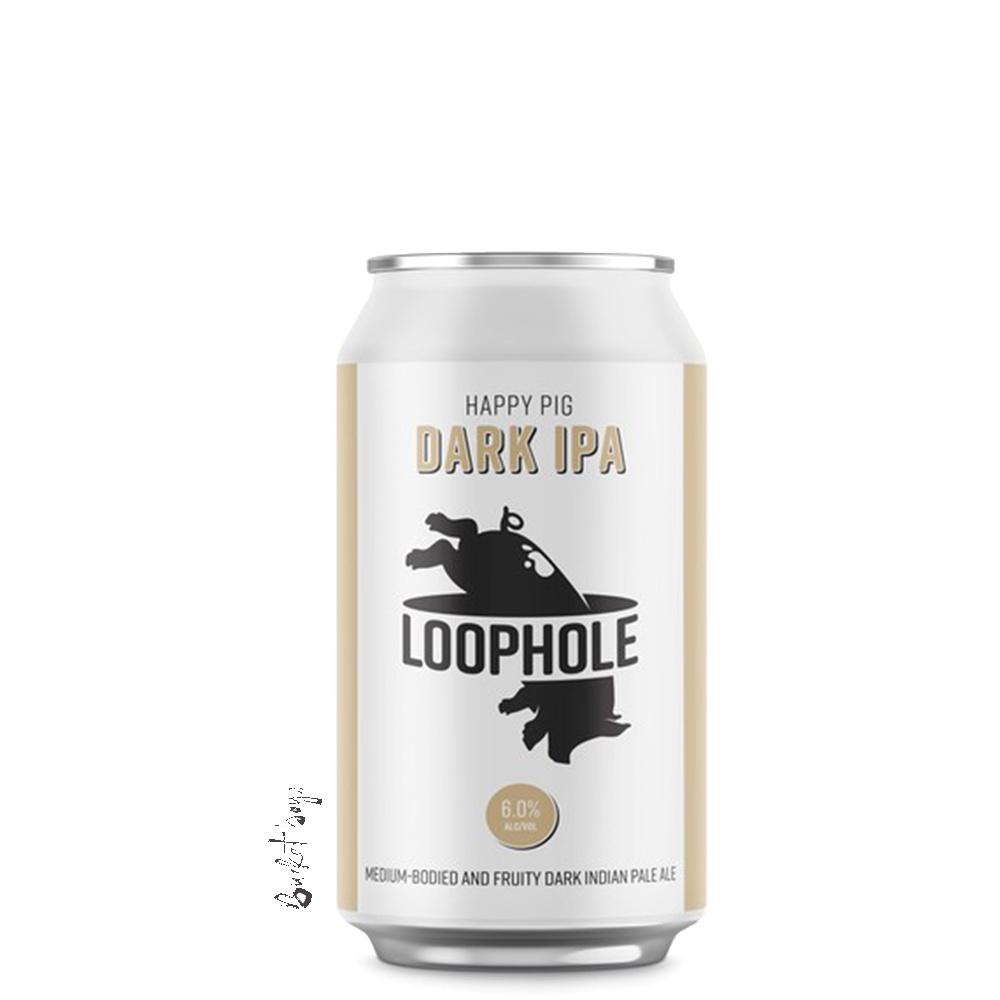Loophole Happy Pig Dark IPA