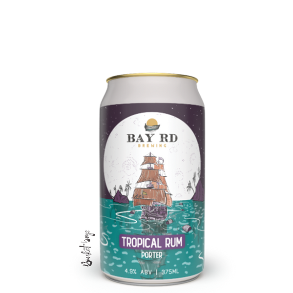 Bay Rd Tropical Rum Porter