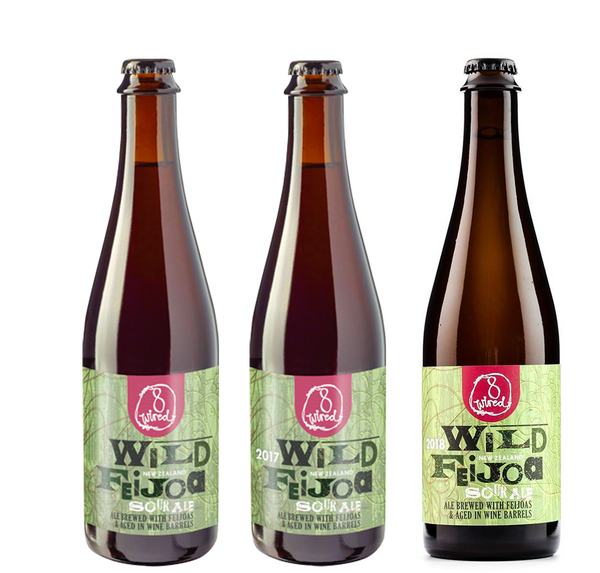 8 Wired Wild Feijoa Vertical 3 Pack