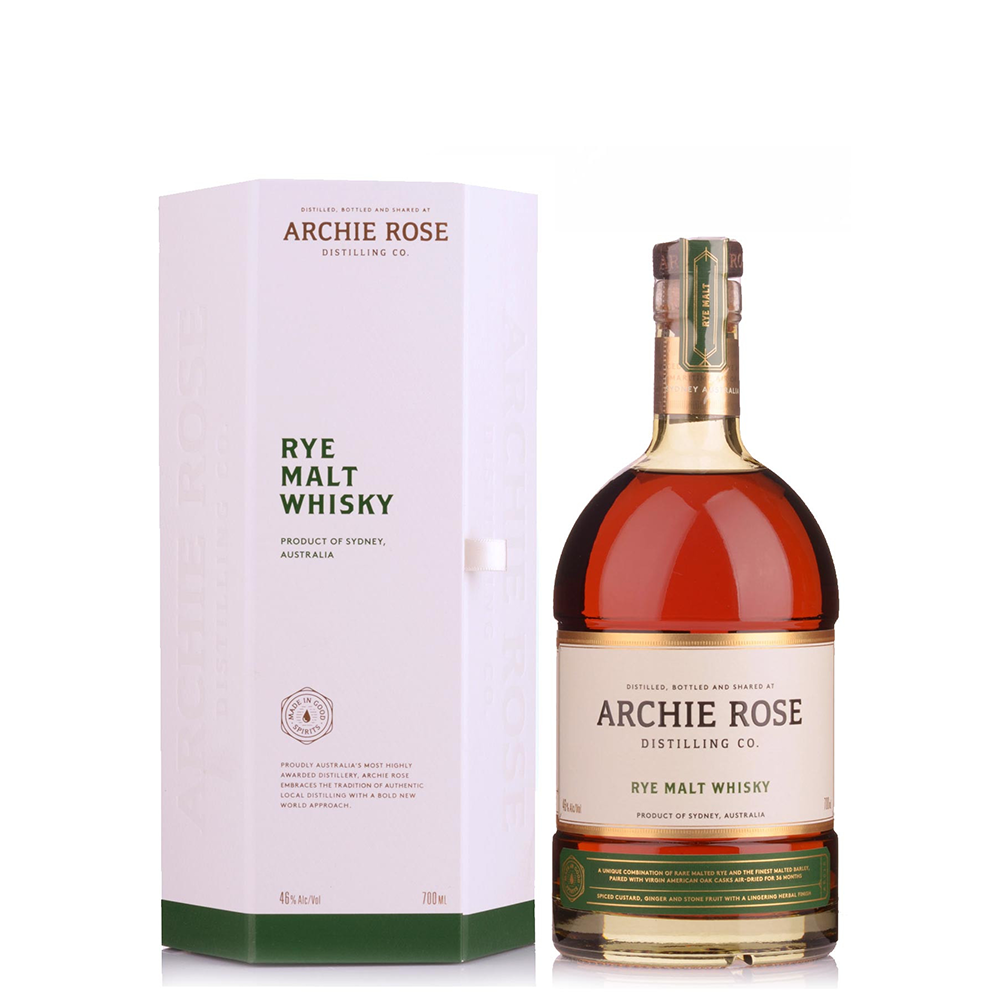 Archie Rose Rye Malt Whisky (700ml)