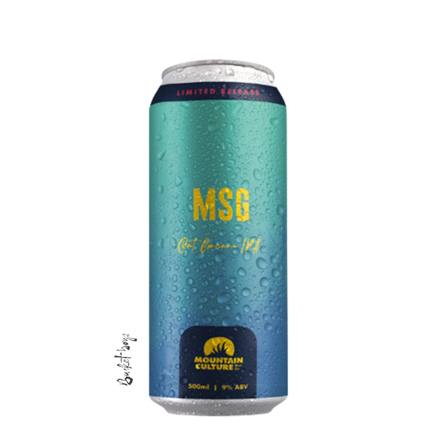 Mountain Culture MSG Oat Cream IPA