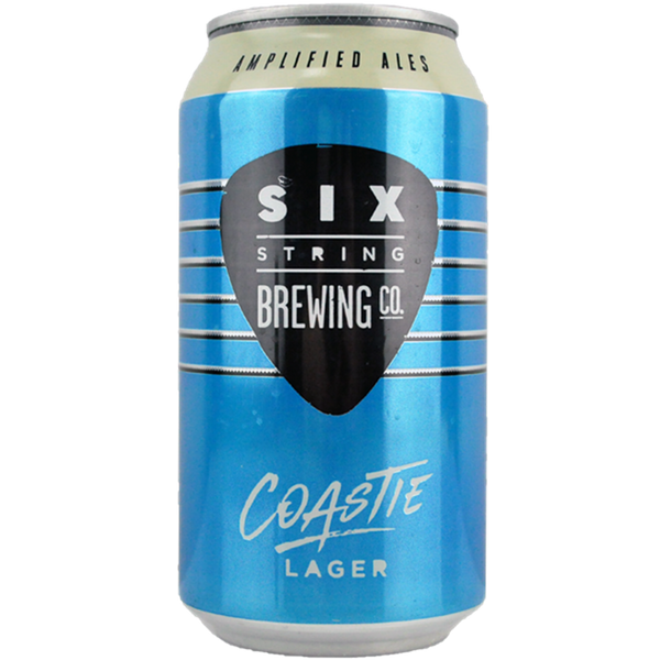 Six String Coastie Pale Lager