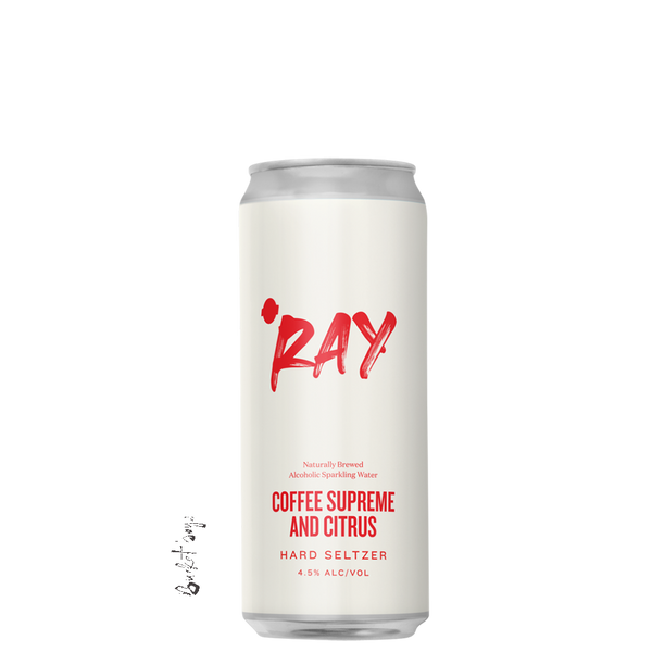 Hop Nation Ray Seltzer Coffee Supreme & Citrus