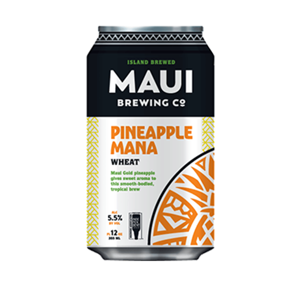 Maui Brewing Pineapple Mana Wheat (355ml)