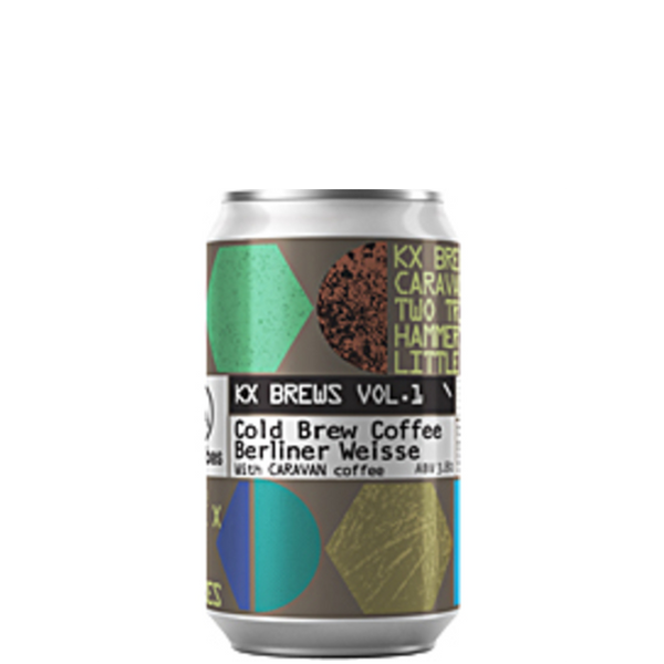 Two Tribes KX Brews Vol. 1 Coffee Berliner Weisse