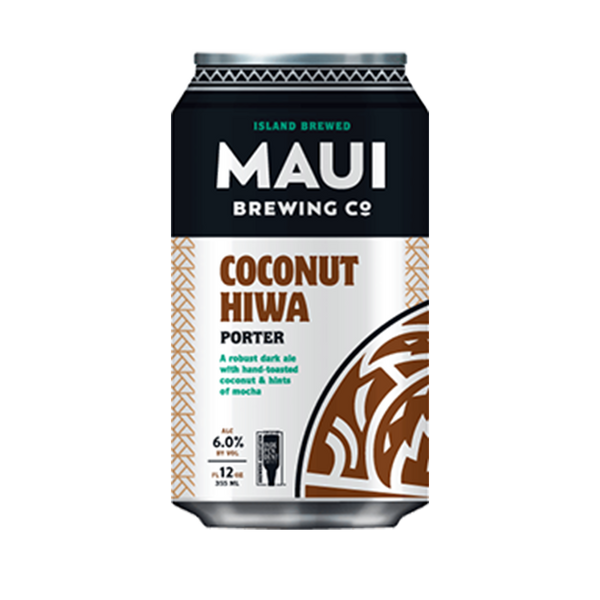 Maui Brewing Coconut Hiwa Porter (355ml)