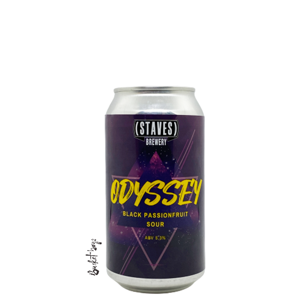 Staves Odyssey Black Passionfruit Sour