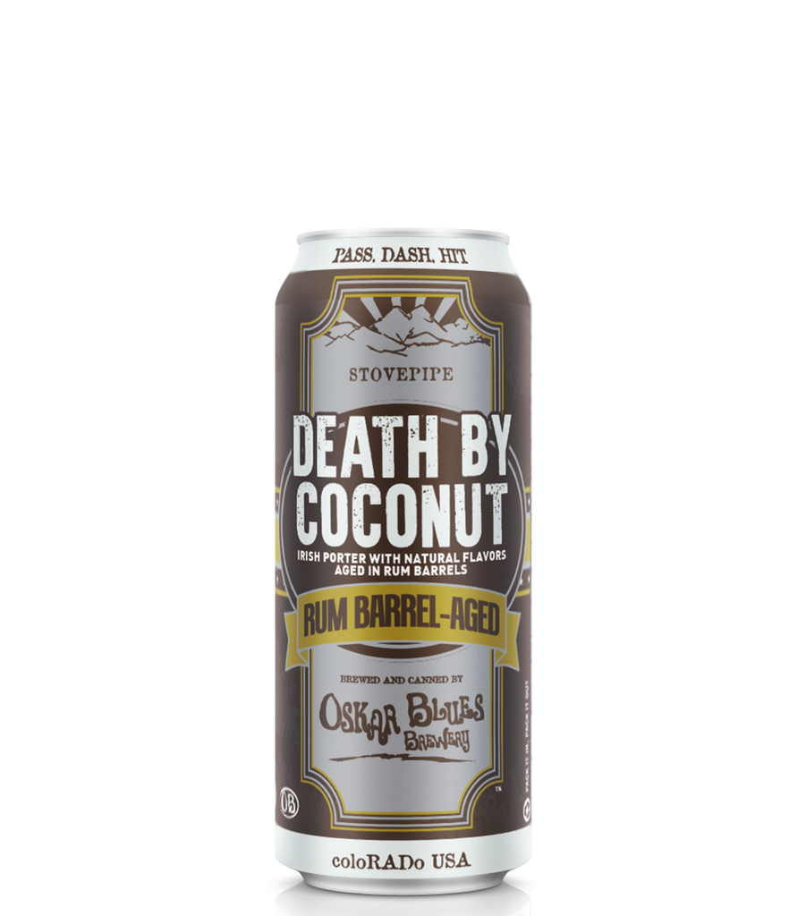 Oskar Blues Rum Barrel-Aged Death By Coconut