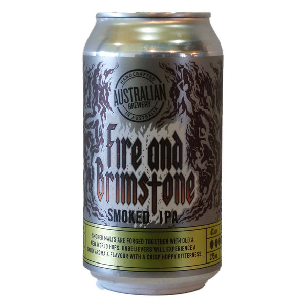 Australian Brewery Fire & Brimstone (375ml)