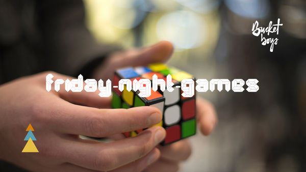 Friday Games Night feat. Rubiks Cube