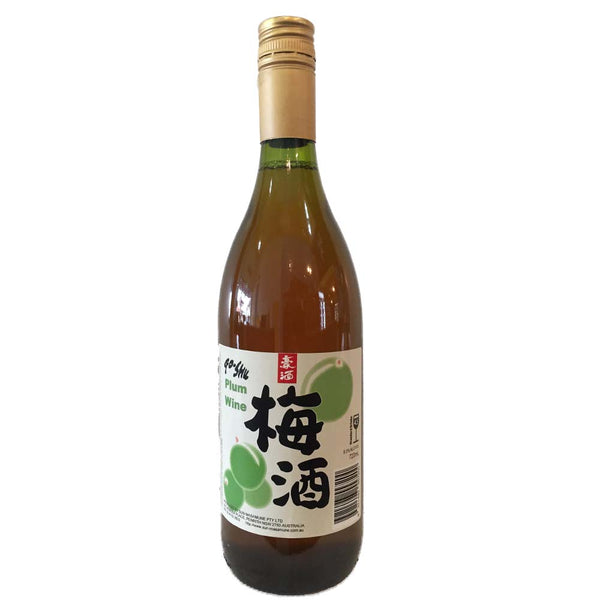 Go-Shu plum wine (720ml)