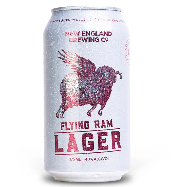 New England Brewing Co. Flying Ram Lager (375ml)