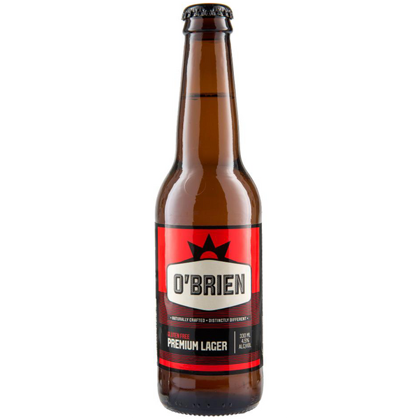 O'Brien Premium Lager (330ml)