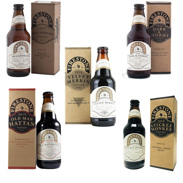 Firestone Walker Vintage Ales Collection (5 Beers)