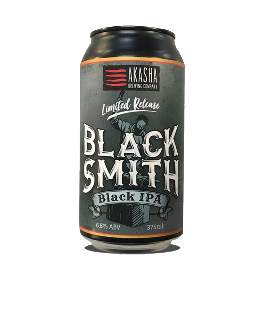 Akasha Blacksmith Black IPA (375ml)
