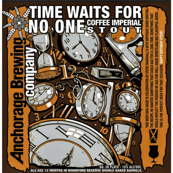 Anchorage Brewing Time Waits For No One Imperial Stout (375ml)