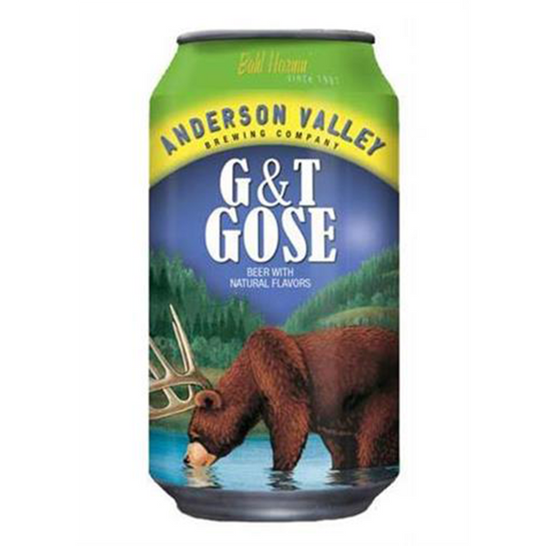 Anderson Valley G&T Gose (355ml)