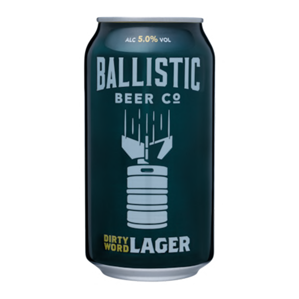 Ballistic Dirty Word Lager