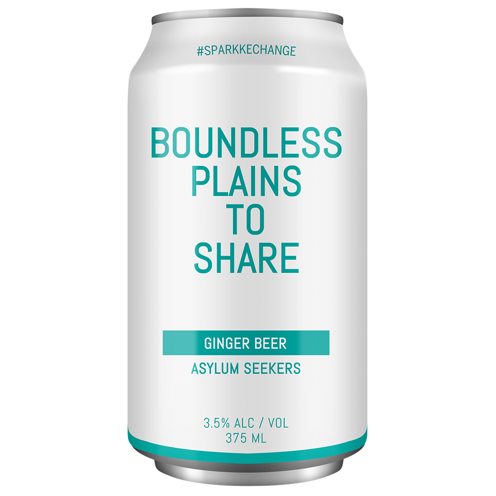 Sparkke Boundless Plains Alcoholic Ginger Beer (375ml)