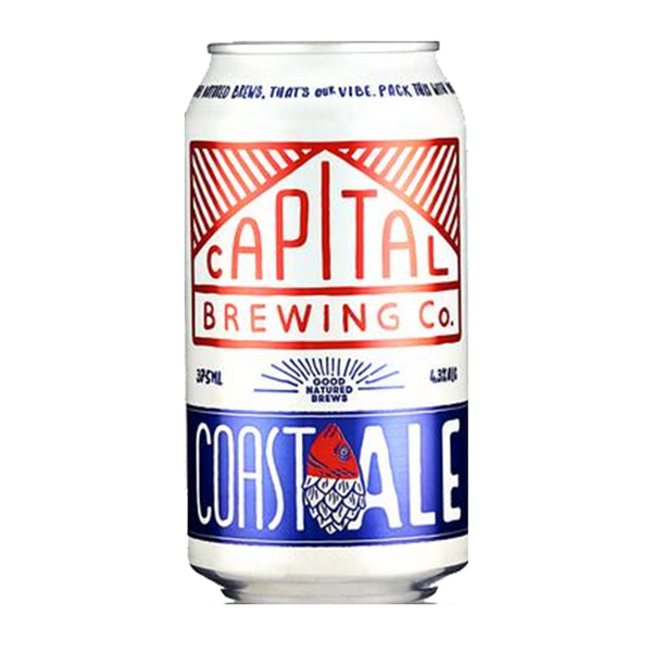 Capital Brewing Coast Ale (330ml)
