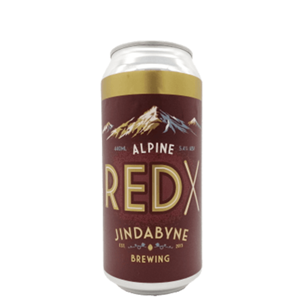 Jindabyne Brewing Red X