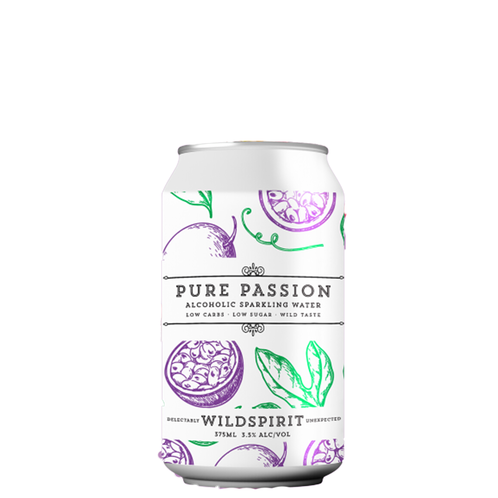 Wildspirit Pure Passion Alcoholic Sparkling Water