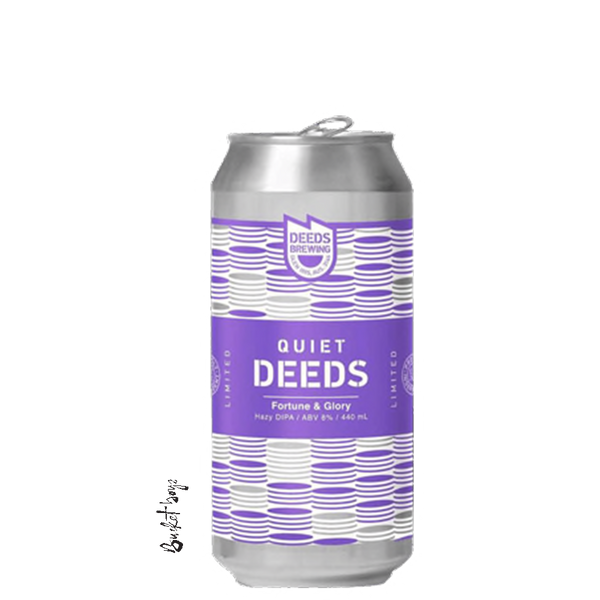 Quiet Deeds Fortune And Glory Double NEIPA